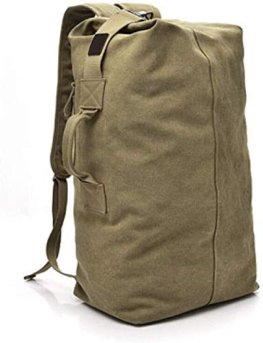 tgbnh Backpack,Hiking Backpack Packable Backpack Hiking Daypack Backpack Unisex Large-Capacity Travel Backpack Khaki Large (Color : Default)
