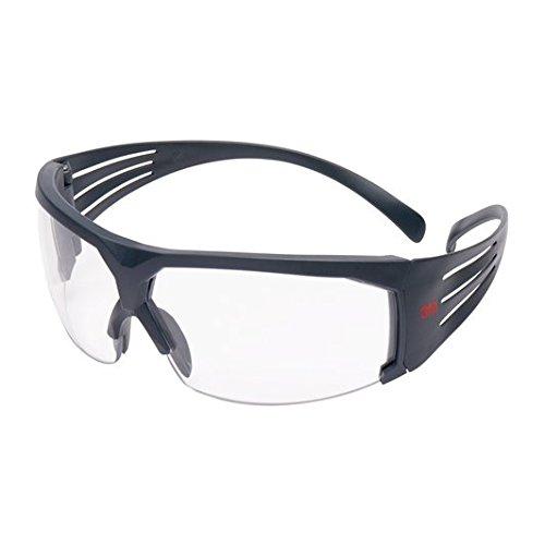 3M SF601SGAF Gafas de Seguridad, Montura gris, 1 unidad/caja