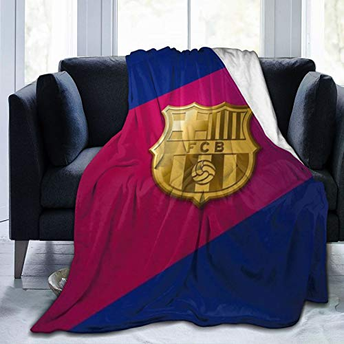 Krr B-Arce-Lona Ultra-Soft Micro Fleece Blanket 60'X50' Light Weight, Durable, Comfortable And Warm Universal Cold Movie Theater