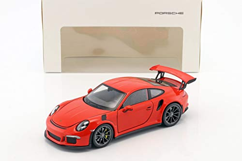Welly Porsche 911 (991) GT3 RS Baujahr 2016 Lava orange 1:24