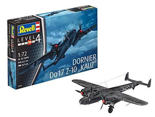Revell Modellbausatz Flugzeug 1:72 - Dornier Do17 Z-10