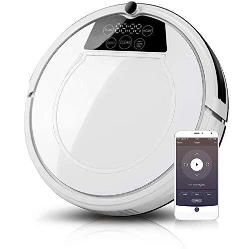Fantastic Deal! Robotic Vacuum Cleaners, 1000Pa Strong Suction, Super Quiet, Smart Self Charging Rob...