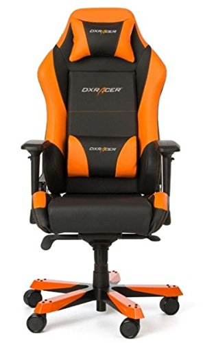 DXRacer Gaming Stuhl, OH/IS11/NO, Iron Series, schwarz-orange, das Original von DX Racer