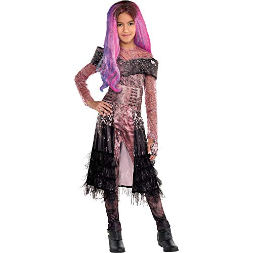 Party City Descendants 3 Audrey Halloween Costume for Girls, Disney, Medium (8-10), Includes Jumpsuit and Accessories