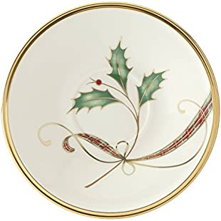 Lenox Holiday Nouveau Gold Tea Saucer:Kisaran