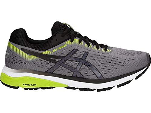 ASICS Men's GT-1000 7 (2E) Running Shoes, 10.5W, Carbon/Black