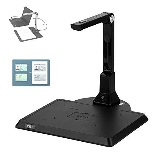 PENGYUYAN Scanner portátil de alta definição, 10 MP HD portátil e dobrável com função OCR, scanner de fotos on-line para ensino à distância, sala de aula, Doc BookB