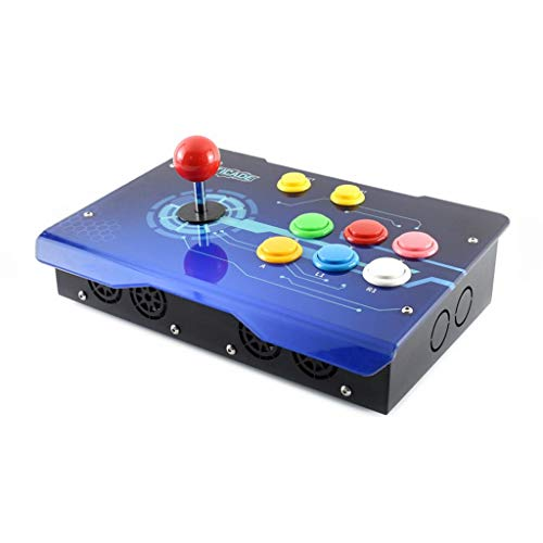 WENDi Arcade-C-1P Accessory Pack, Arcade Console Building Kit, Designed for Raspberry Pi,...