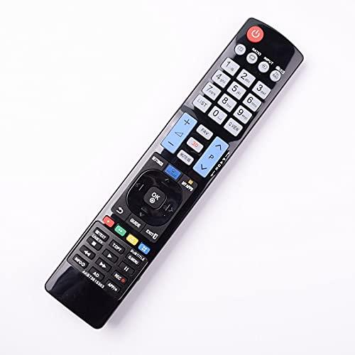 HUYANJUN, Control Remoto AKB73615303 Adecuado LG TV LCD HDTV AKB72915238 AKB72914043 AKB72914041 AKB73756502 AKB73756504 3D Controlador (Color : AKB73615303)