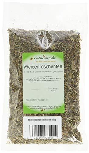 Naturix24 – Weidenröschentee, Kleinblütiges Weidenröschenkraut geschnitten – 100 g Aromaschutzbeutel