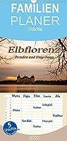 Elbflorenz - Dresden und Umgebung - Familienplaner hoch (Wandkalender 2022 , 21 cm x 45 cm, hoch): Fotos von Staedten in Sachsen mit einzigartiger Stimmung (Monatskalender, 14 Seiten )