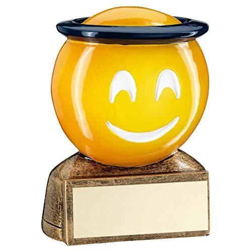 Lapal Dimension BRZ/Yellow/Blue Halo Emoji Figura Trofeo – 2.75 in