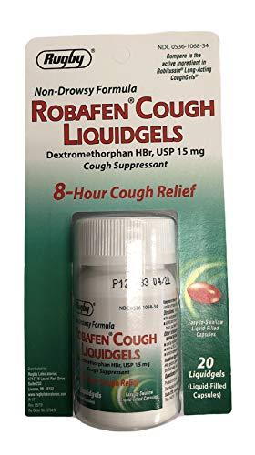 Robafen Cough Liquidgels Dextromethorphan HBr, USP...