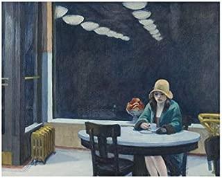 Automat, 1927 by Edward Hopper, Art Print Poster 14