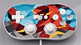 Comic Book Hero Polygon Design Vinyl Decal Sticker Skin by egeek amz for Wii Classic Controller
