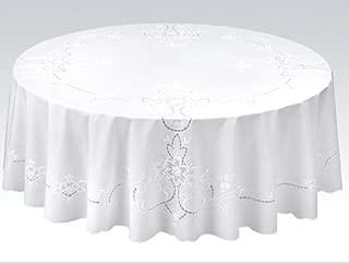 明和图书馆 桌布 白色 直径:152cm