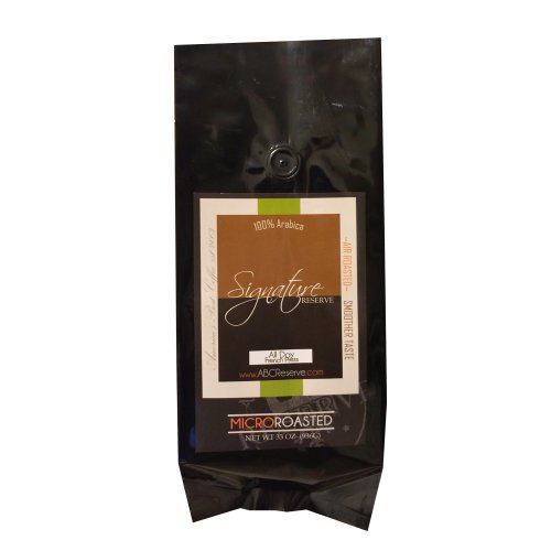 America's Best Coffee Reserve 33oz 100% Arabica Signature All Day Blend Micro Roasted Ground...