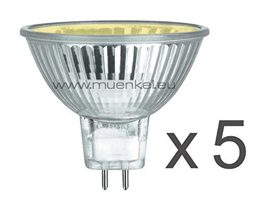5 Lámparas para Opti-Myst 3D-Feuer (Repuesto Halógeno Bombillas)