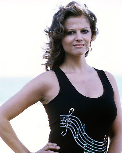Claudia Cardinale 16x20 Poster in black top