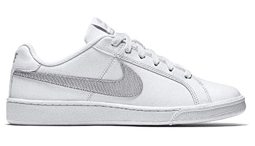 Nike Court Royale, Zapatillas para Mujer, Blanco (White/Metallic Silver 100), 42 EU