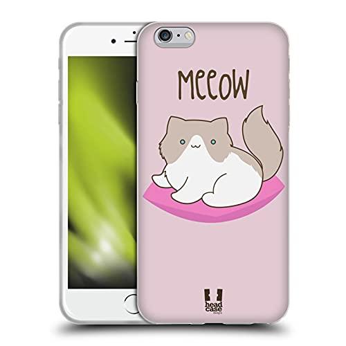 Head Case Designs Ragdoll Gatos del Gatito Carcasa de Gel de Silicona Compatible con Apple iPhone 6 Plus/iPhone 6s Plus