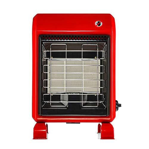 xinxinchaoshi Calefactor Portátil Terraza Calentador Licuado Gas Parrilla Estufa Hogar Vertical Calentador de Calor rápido Ventilador Calefactor