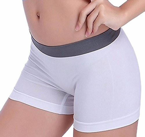 Whites Spandex Panties - 6