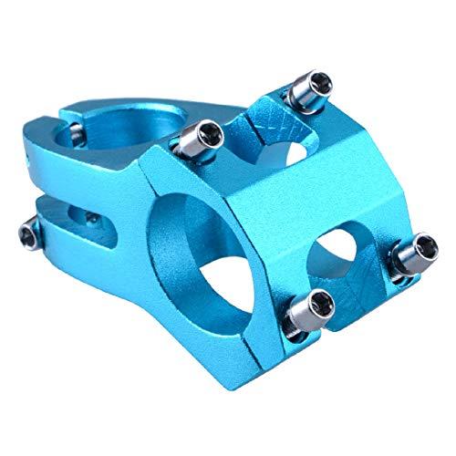 Azarxis Potencia de Manillar Vástago Bicicleta Aleación de Aluminio 31,8mm 40mm para La Mayoría de Las Bicicletas MTB (Azul)