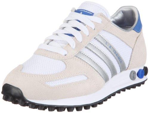 adidas Originals LA Trainer G12619 - Sneaker Unisex per Adulti, (Bianco Metallizzato Silver Satellite), 47 1/3 EU