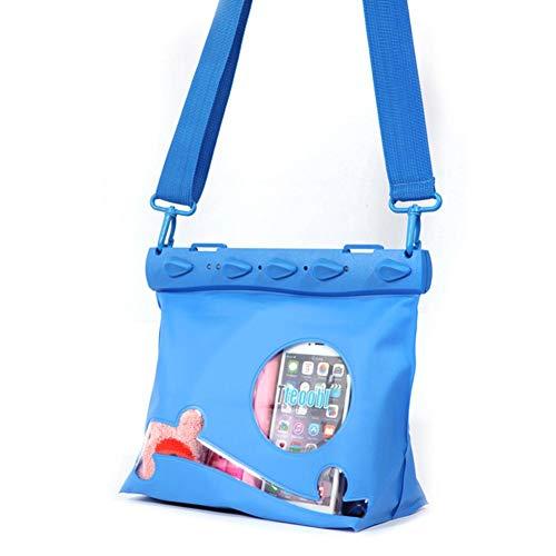 Brownrolly Draagbare, waterdichte verstelbare riem multifunctionele tas opbergtas voor zwemmen, snorkelen, varen, vissen, kajakkrijden