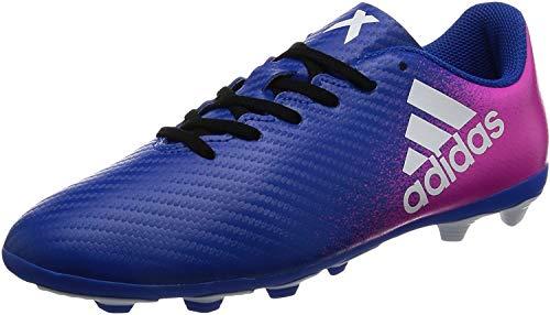 Adidas X 16.4 Fxg J, Unisex-Kinder Fußballschuhe, Blau (Azul/ftwbla/rosimp), 38 2/3 EU (5.5 UK)