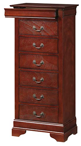 Glory Furniture Lingerie Chest, Cherry