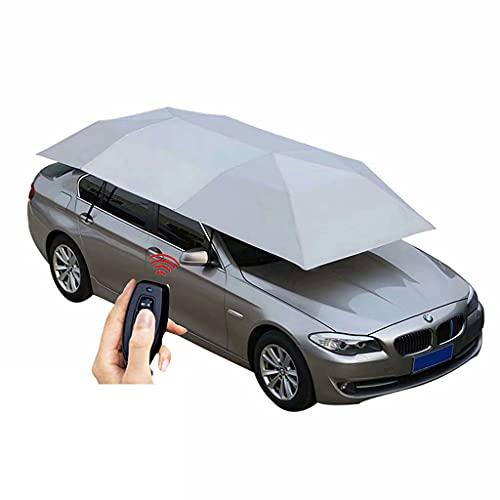 Toldo de Coche Adecuado para Audi A1 A3 A4L A6L Q2L Q3 Q5L Q7 Paraguas de la sombrilla de la Tienda de campaña a Prueba de Lluvia y con Aislamiento térmico