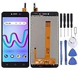 MENGHONGLLI Accesorios de reemplazo de teléfonos celulares Pantalla LCD y Montaje Completo de digitalizador para Wiko Lenny 3 MAX