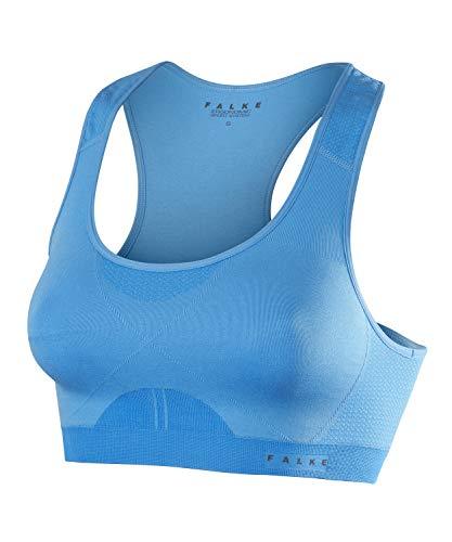 FALKE Damski sportowy biustonosz Madison Low Support, Sport Performance materiał, 1 sztuka, niebieski (Blue Note 6545), rozmiar: XS