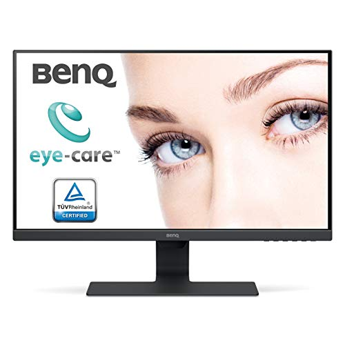 "BenQ GW2780 - Monitor de 27"" FullHD (1920x1080, 16:9, IPS, HDMI 1.4x1, DisplayPort 1.2x1, VGA, Altavoces, VESA, E2E, Eye-care, Sensor Brillo Inteligente, Flicker-free, antireflejos) Color Negro"