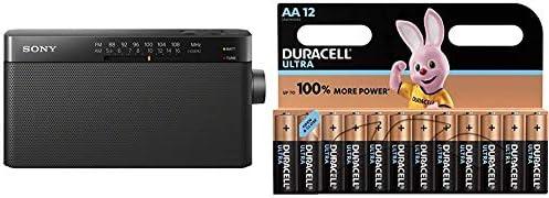 Sony ICF-306 Portable AM/FM Radio - Black