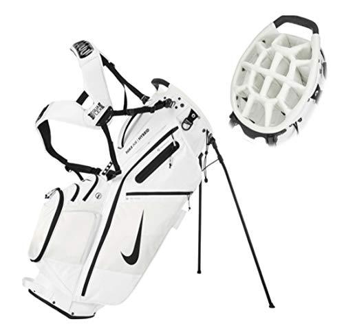Nike Golf Stand Bag - Air Hybrid, Sports, Lite - Unisex (AIR Hybrid - White (14-Divider))