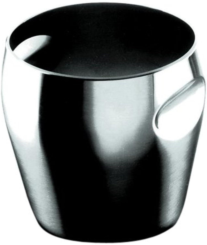 Alessi 4-3 4-Inch Ice Bucket, Matte Finish