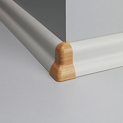 Außenecke Kunststoff für Profilsockelleiste Ahorn Gold