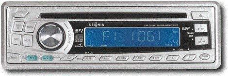 Insignia Car CD / MP3 Player 160 Watts IN-CS102