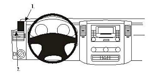Brodit 803875 ProClip für Benz Sprinter 07-17 Crafter 07-17 schwarz