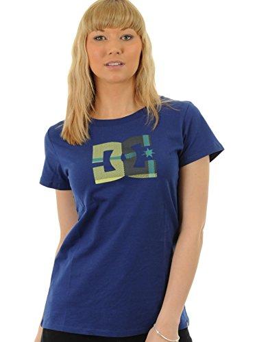 DC Shoes  - Camiseta de Running para Mujer, tamaño L, Color Azul PRT