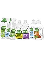 Seventh Generation Schoon Huis pakket 7-delig - Toiletreiniger, Badkamerreiniger, Allesreiniger, Afwasmiddel en Wasmiddel - 1 pakket