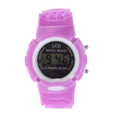 OSYARD Kinderuhr Sportuhr Lernuhr Uhr,Jungen Mädchen Studenten Uhren Sport Elektronische Digital Uhren LED Armbanduhr,Kinder Mode Einfach Armbanduhren Casual Uhr Silikonband Uhren