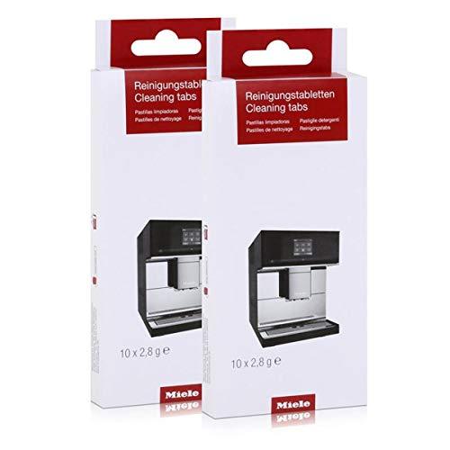 Miele Reinigungstabletten 10270530 10 x 2,8 g (2er Pack)