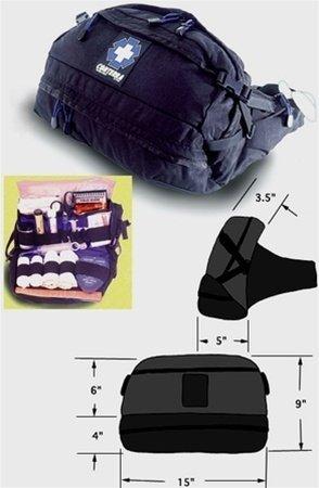 conterra Patrol III Hilfe Gürtel Pack–Schwarz von Rescue Essentials by conterra