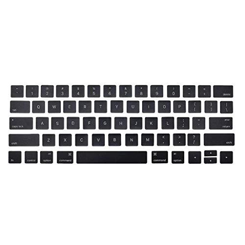 Almencla Set de Teclas de Teclado Reemplazo de Tapas de Teclas para Apple MacBook Pro