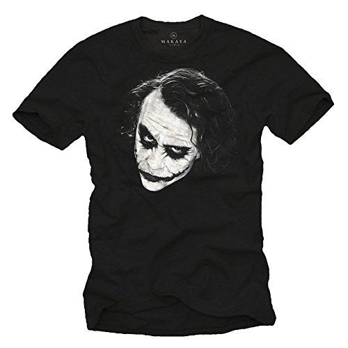 Camiseta Joker Hombre - Why SO Serious - Blanca XXXL