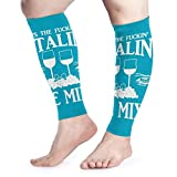Zcfhike Create Magic - Bill Murray Throw Calf Compression Sleeve - Leg Compression Socks for Shin...